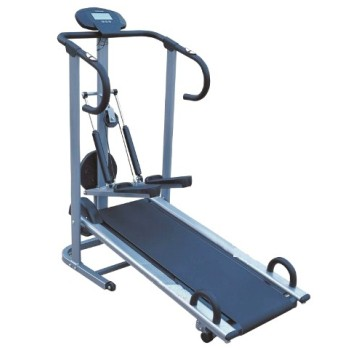DELUXE MULTI-FUNCTION MANUAL TREADMILL
